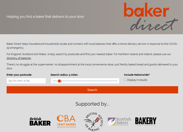 Image for Find a bakery that delivers to your door